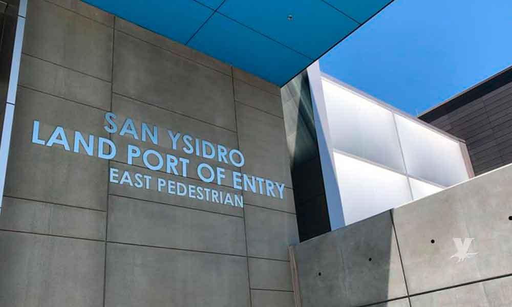 Inauguran nuevo acceso peatonal en la Garita de San Ysidro