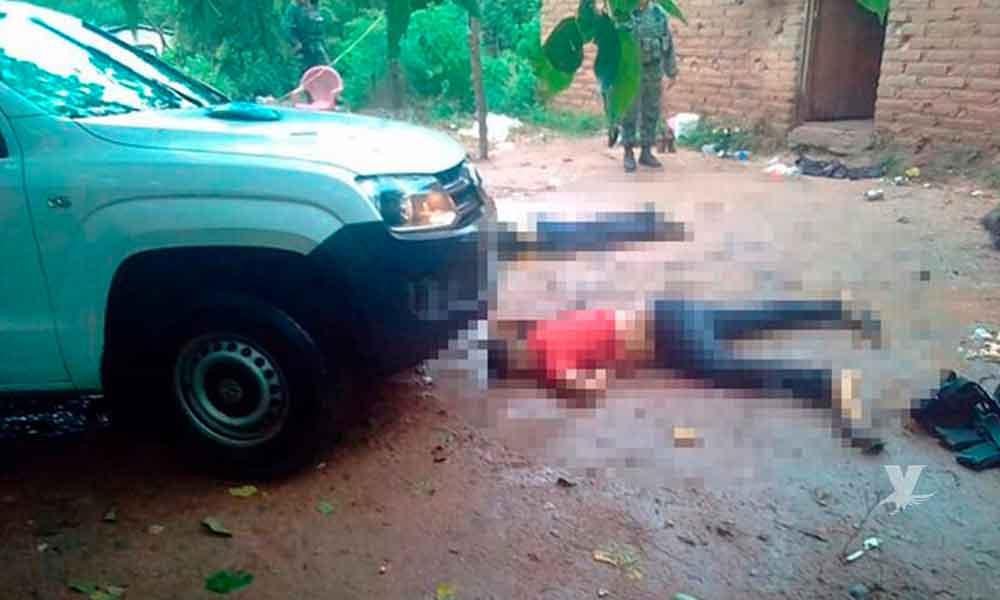 Siete muertos, fue el saldo de un enfrentamiento entre militares y sujetos armados en Guerrero