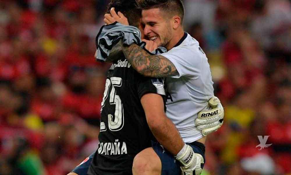 """Portero consiguió un """"hat-trick"""" en Libertadores gracias a Carlos Sánchez"""