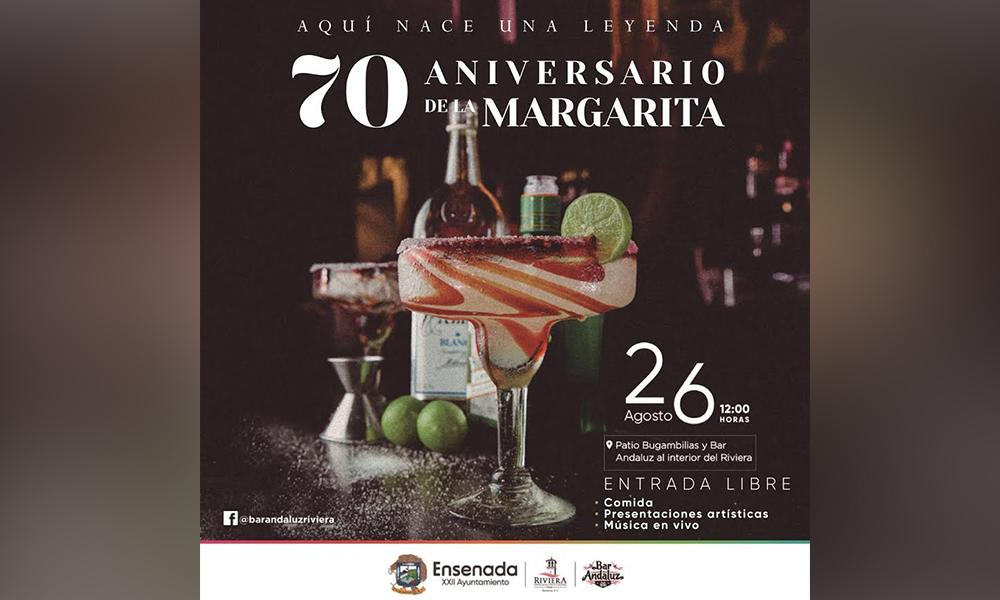 Prepara Riviera de Ensenada y Bar Andaluz gran festival por el 70 Aniversario de la Margarita