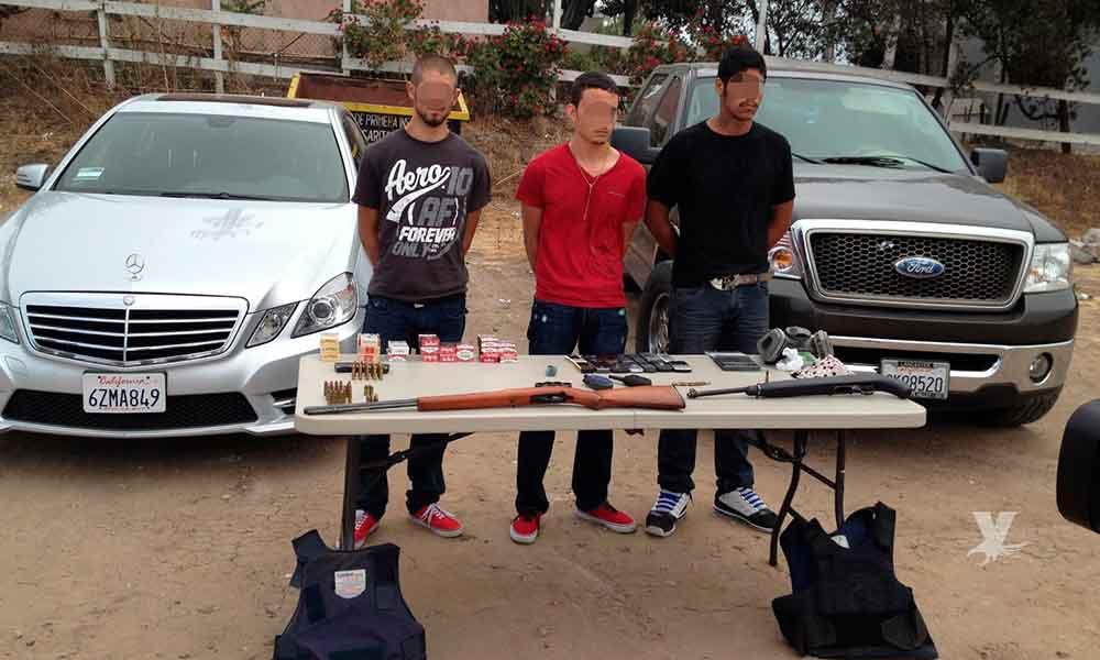 En Tijuana los detenidos con armas de fuego llevarán proceso judicial en prisión
