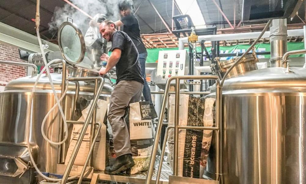 """Producirán en la Telefónica Gastro Park cerveza """"ShouthNorte"""" de San Diego"""