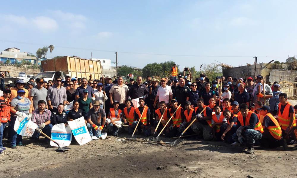 Promueven policías la cultura y espacios Seguros en Tijuana