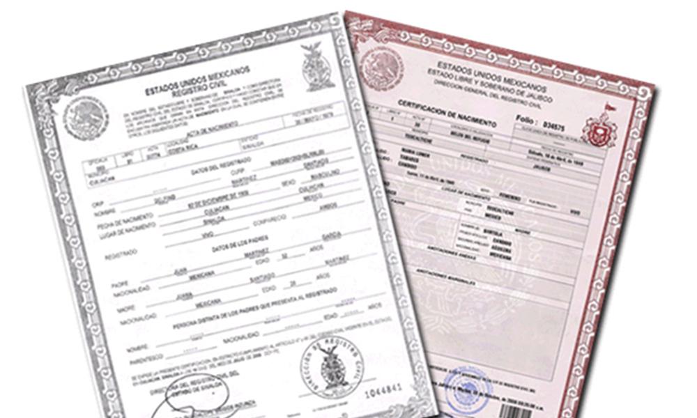 Único Certificado De Nacimiento Tamil Nadu Gobierno En Línea Patrón ...