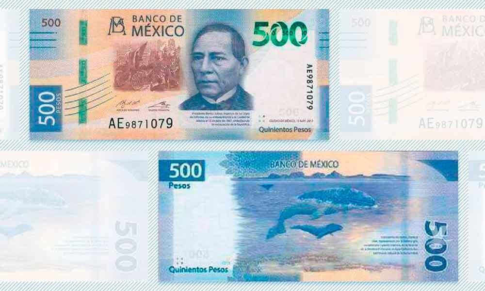 Banco de México presenta el nuevo billete de 500 pesos