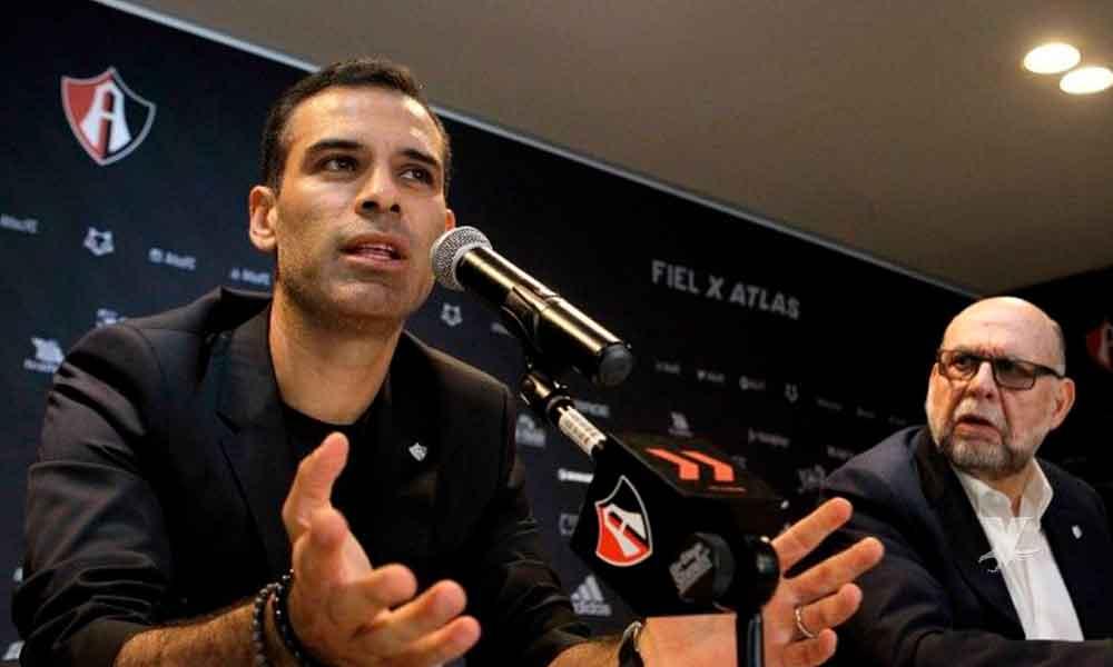 Rafa Márquez buscará que Atlas juegue igual que el FC Barcelona