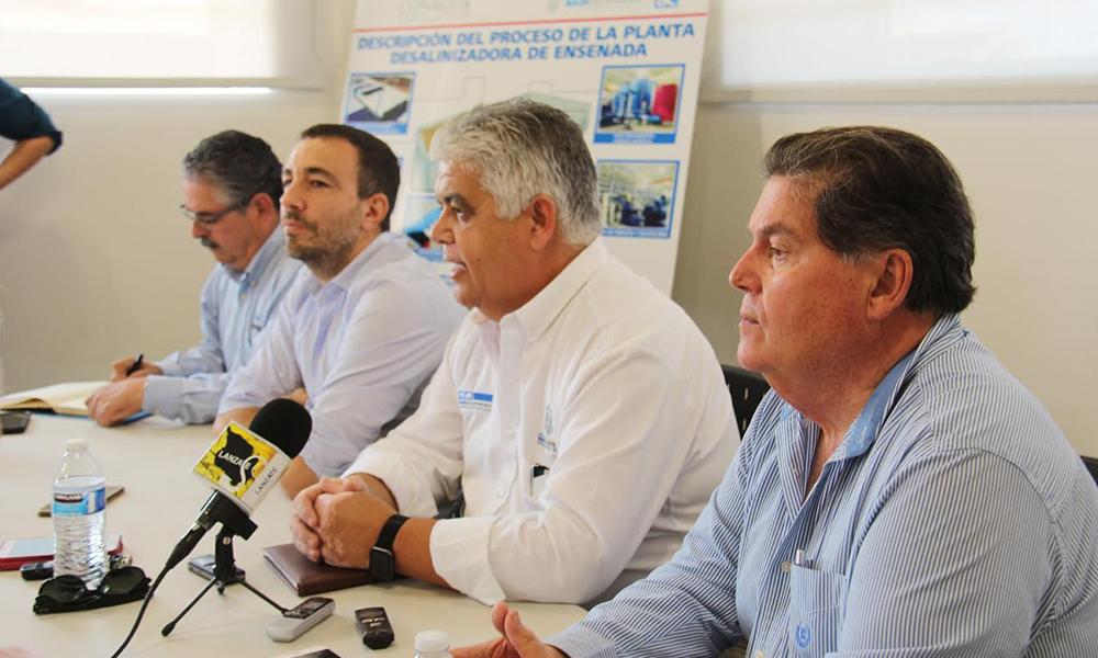 Realizan ajustes preventivos en planta desalinizadora de Ensenada