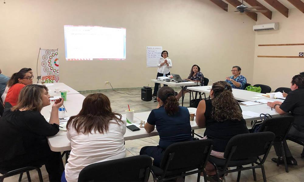 Realizan tercera reunión de capacitación para la prevención de la violencia contra las mujeres en Tecate