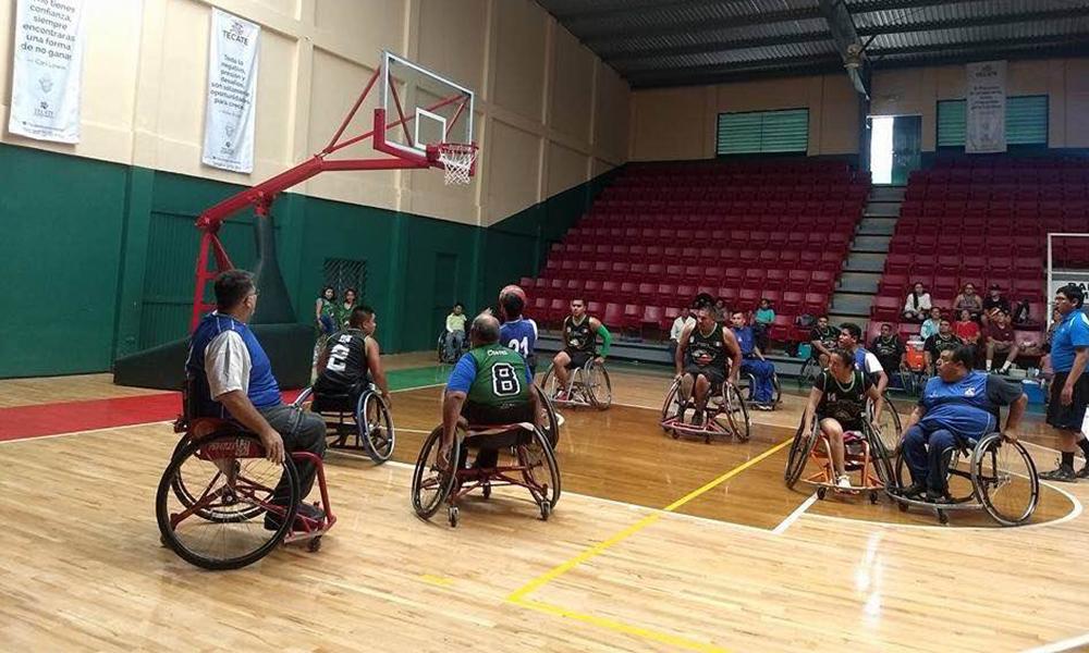 Realizan torneo relámpago de Basquetbol en Silla de Ruedas en Tecate