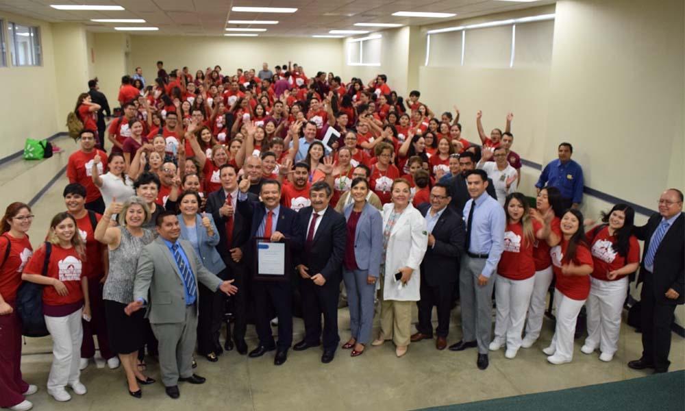 Recibe acreditación la Licenciatura en Enfermería de Ecisalud-Unidad Valle de las Palmas: UABC