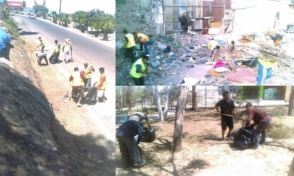 Recolectan más de nueve toneladas de basura en Tijuana