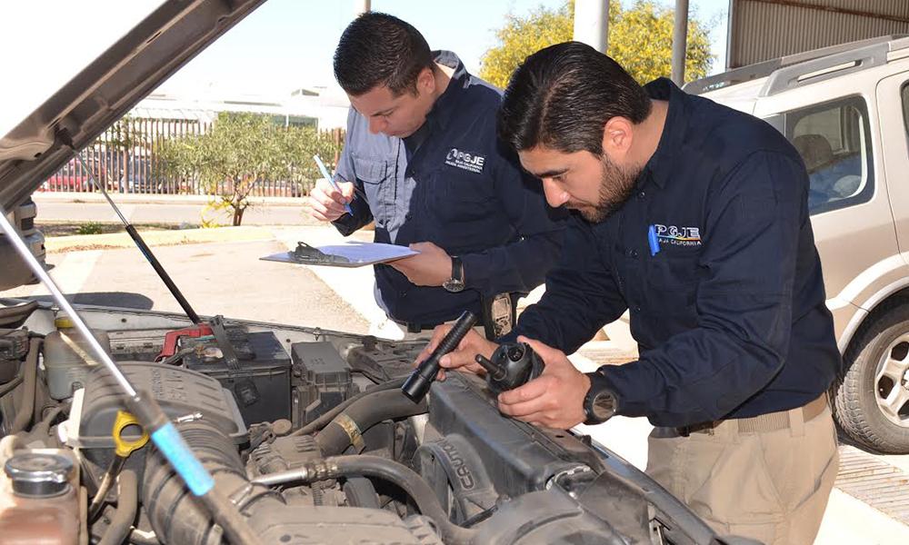 Recuperan 121 vehículos con reporte de robo en Ensenada
