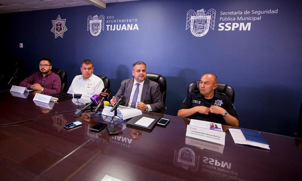 Refuerzan Policía Municipal con 210 agentes en Tijuana