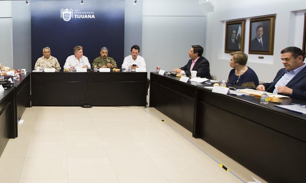 Refuerzan seguridad con Grupo de Coordinación en Baja California