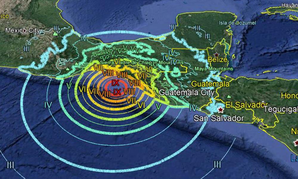 Se registra sismo de 5.2 en Pijijiapan, Chiapas