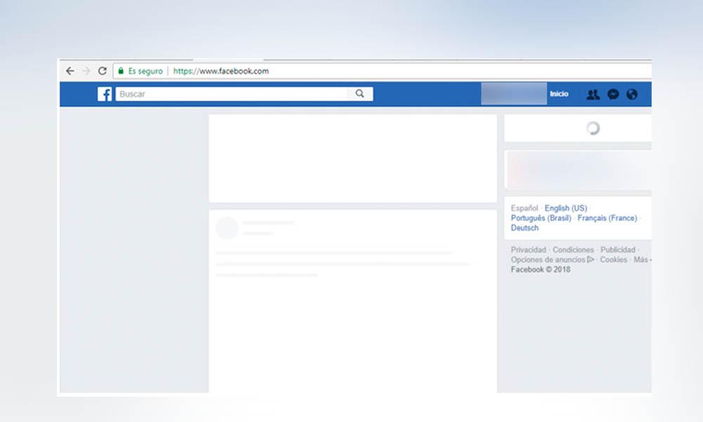 Alertan por caída de Facebook