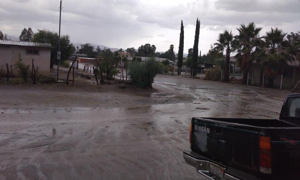 Reporte sin daños hasta el momento por las lluvias en Ensenada