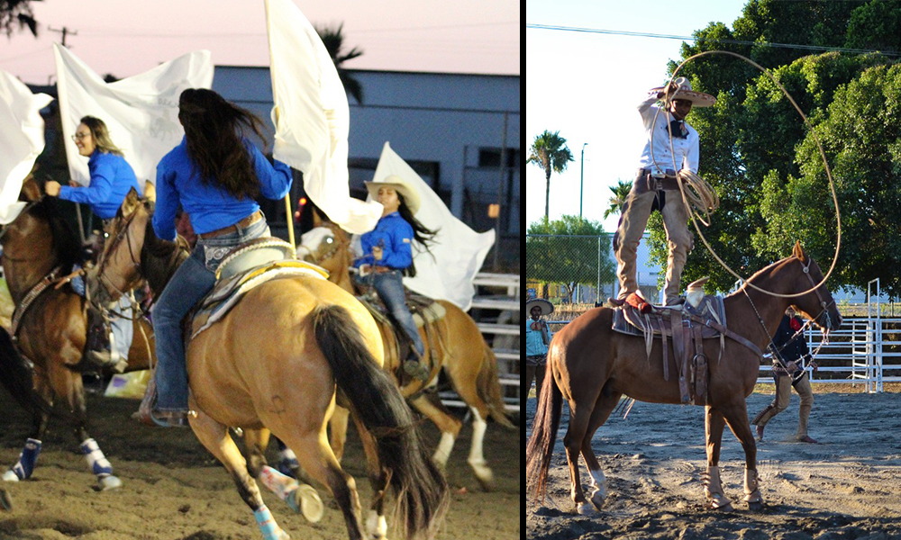 Fueron Rodeo y Charrería grandes atractivos de la Feria Tecate en Marcha 2018