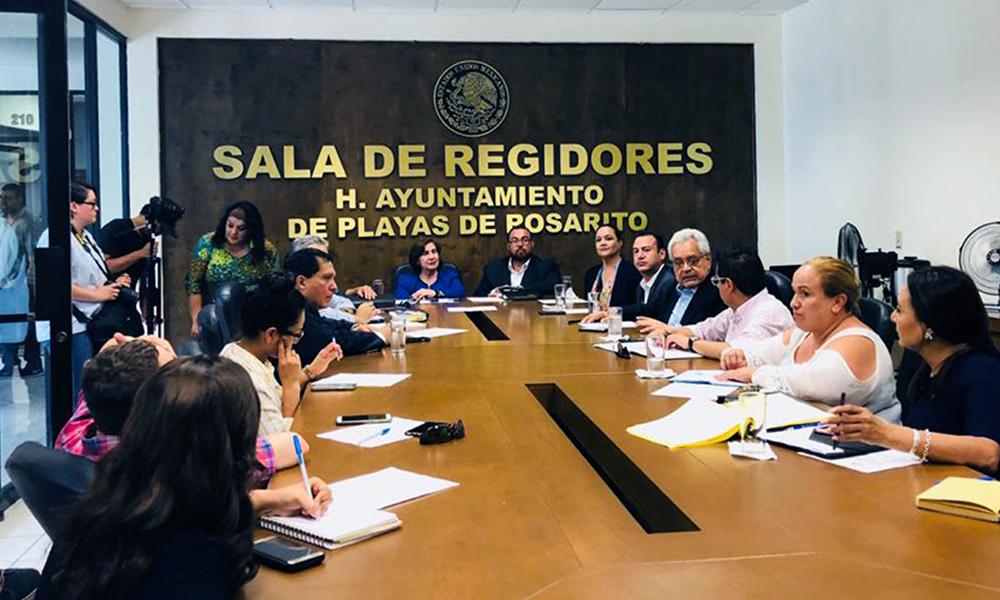 Rosarito se compromete a suspender el uso de bolsas de plástico desechable