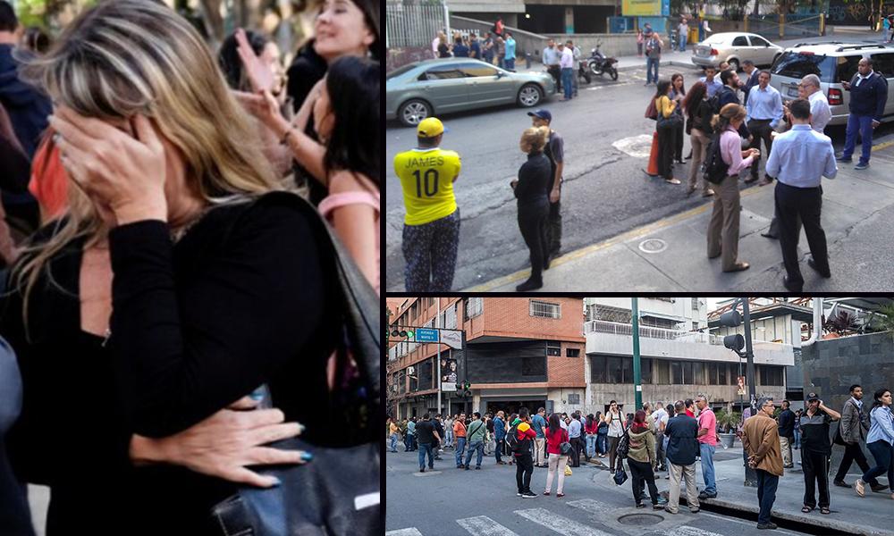 Terremoto sacude a Venezuela con una magnitud de 7.3 causando pánico