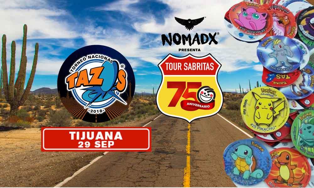 Se realizará el Primer Torneo Nacional de Tazos 2018 en Tijuana, podrás ganar hasta 50 mil pesos