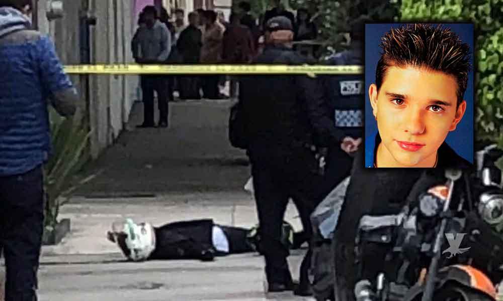 Difunden primeras imágenes de presunto homicida de Fabio Melanitto