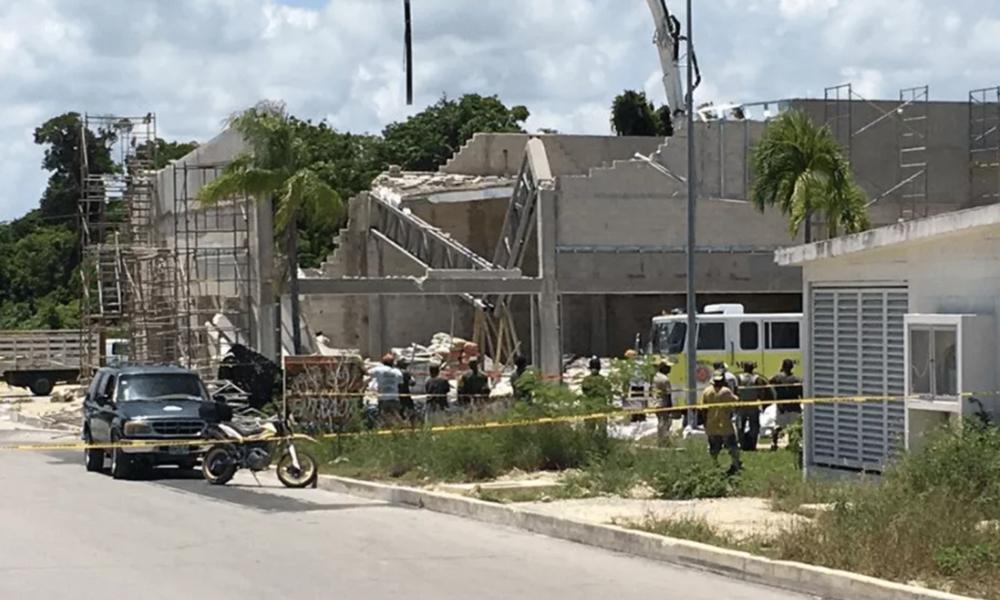 Un muerto y 16 heridos saldo de derrumbe en Quintana Roo