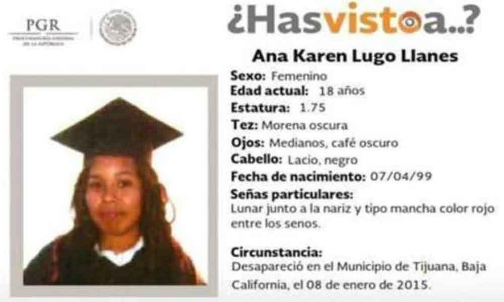 Localizan a joven reportada como desaparecida en Tijuana desde el 2015; se encontraba en Veracruz