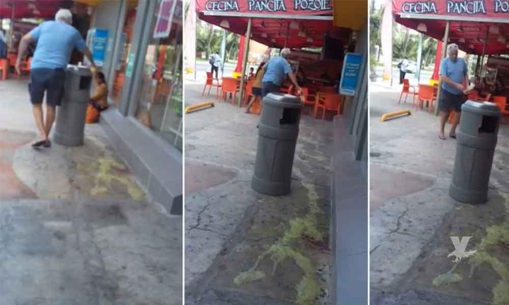 (VIDEO) Indignación en México: turista ataca a niña indígena con ácido