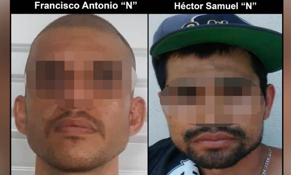 Aseguran a dos sujetos fugitivos de la ley en Tijuana