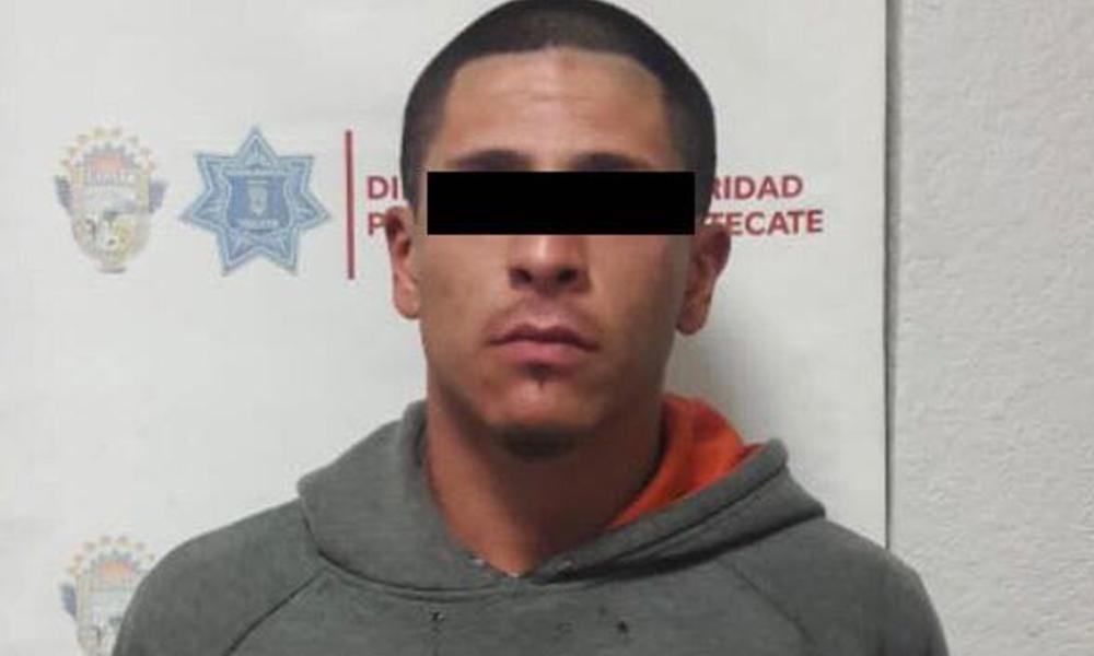 Capturan a sujeto tras agredir a mujer en Tecate