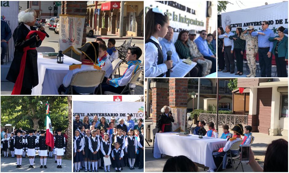 Celebran Aniversario 197 de Consumación de la Independencia de México en Tecate