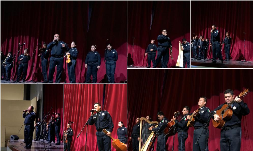 Celebran Sinfónica y Mariachi de la Policía Federal el 208 aniversario de la Independencia de México en Tecate