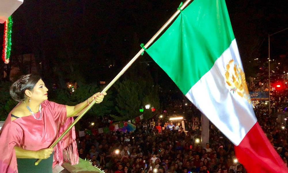 Así celebraron en Tecate el 208 aniversario del Grito de Independencia de México
