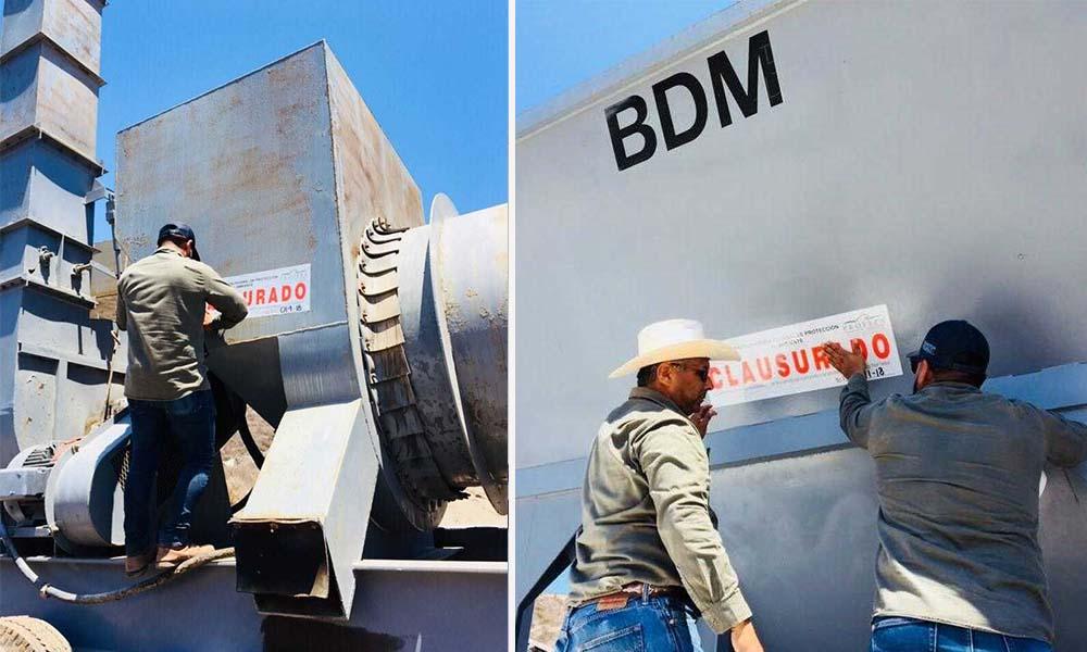 Clausuran empresa de Ensenada por manejo inadecuado de residuos