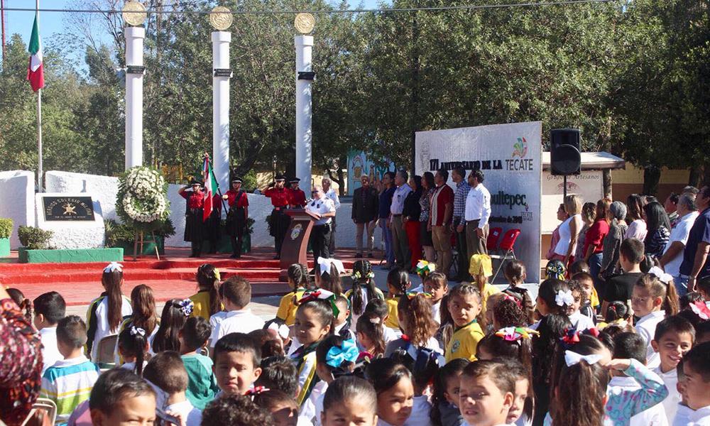 Conmemoran el 171 Aniversario Luctuoso de la Gesta Heroica de Chapultepec en Tecate