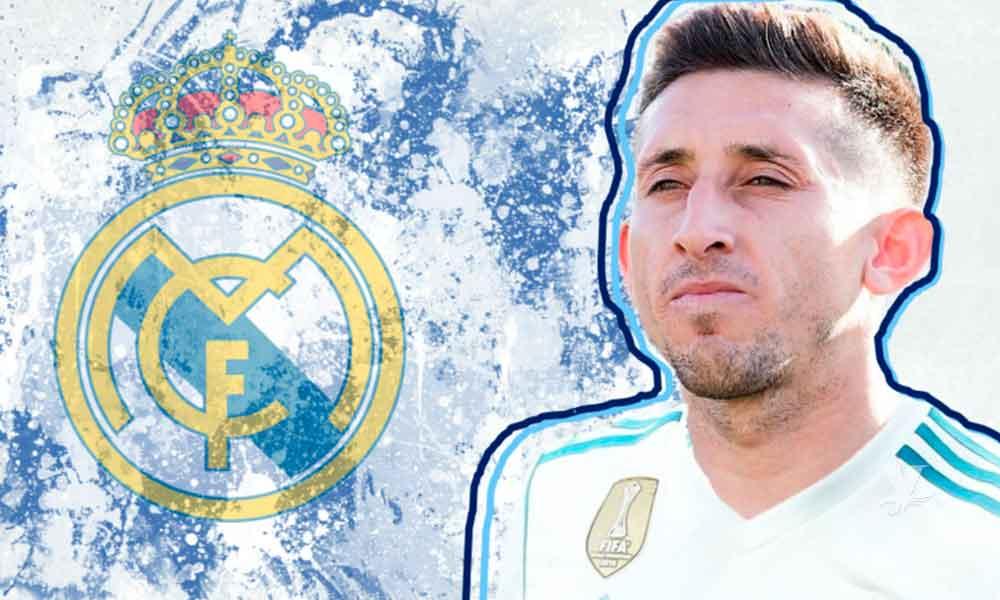 Héctor Herrera jugará con el Real Madrid a partir de Enero