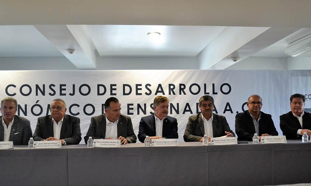 Impulsa CODEN definir vocaciones económicas y apoyar metropolización de Ensenada