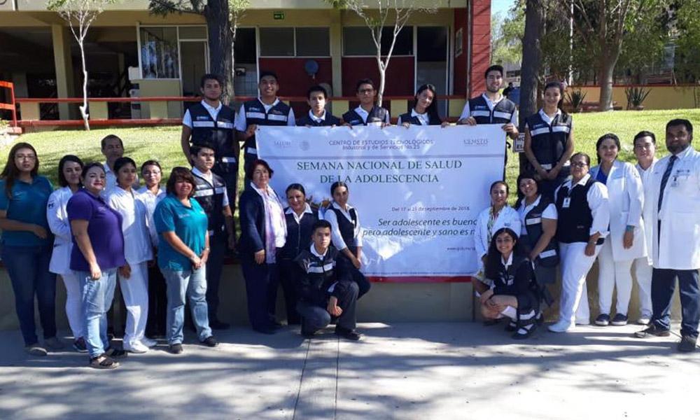 "Inauguraron ""Semana Salud del Adolescente 2018"""