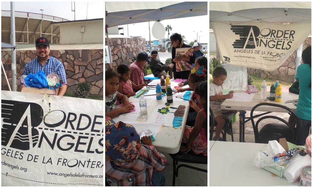 Invitan a familiares de migrantes expresarse a través de actividades en el muro de Playas de Tijuana