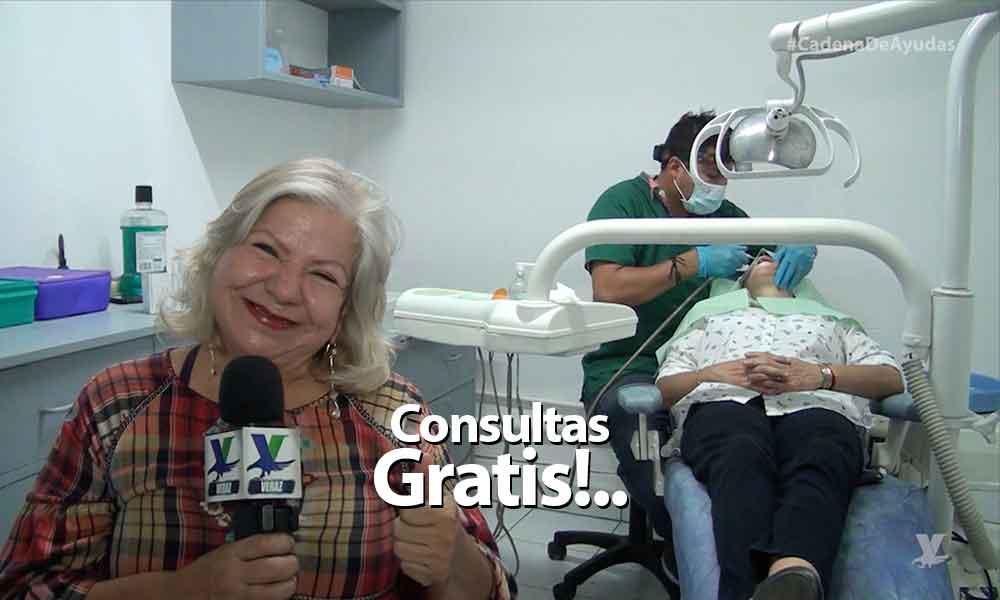 ¡Consultas dentalesgratis! En el módulo de atención de laLic. Marina CalderónenTecate