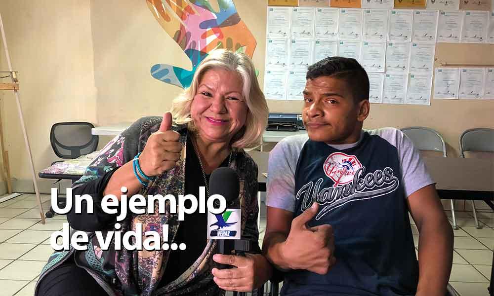 """""""Seguiremos#apoyandocon nuestra#CadenaDeAyudasa personas ejemplo de vida como David"""":Marina Calderón"""