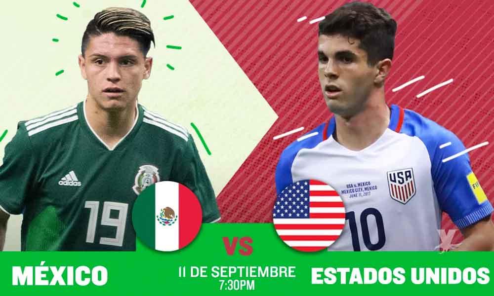 mexico vs usa amistoso 2020