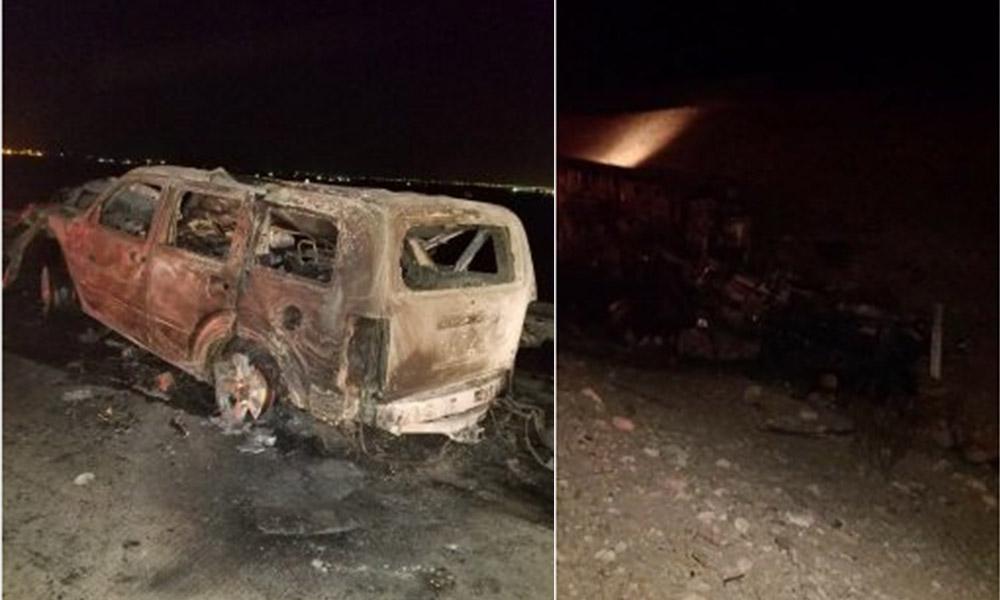 Mueren dos personas tras chocar con un tráiler en la carretera San Felipe – Tijuana