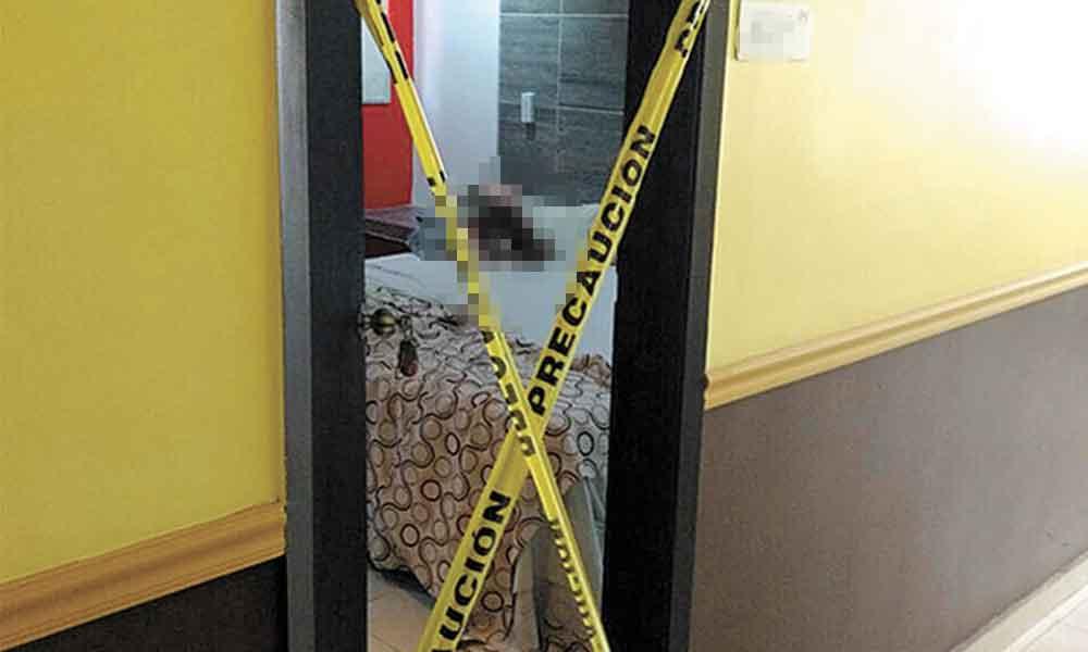 Con una botella de caguama, asesinan a mujer dentro de un Motel en Mexicali