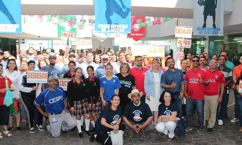 Organizan el torneo deportivo del ejecutivo en Ensenada