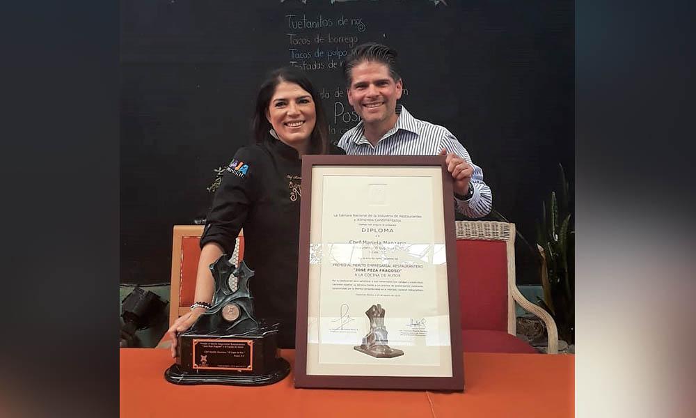 Participa Gobierno del Estado en premiación al Mérito Empresarial Restaurantero a la Cocina de Autor en Tecate