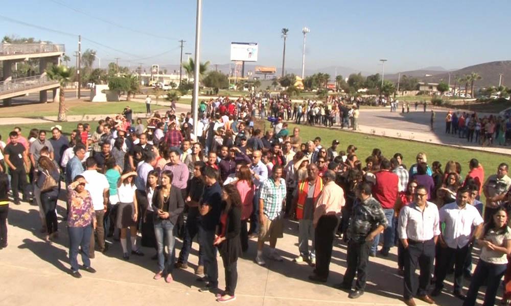 Protección Civil de Baja California invita a participar en el simulacro de sismo