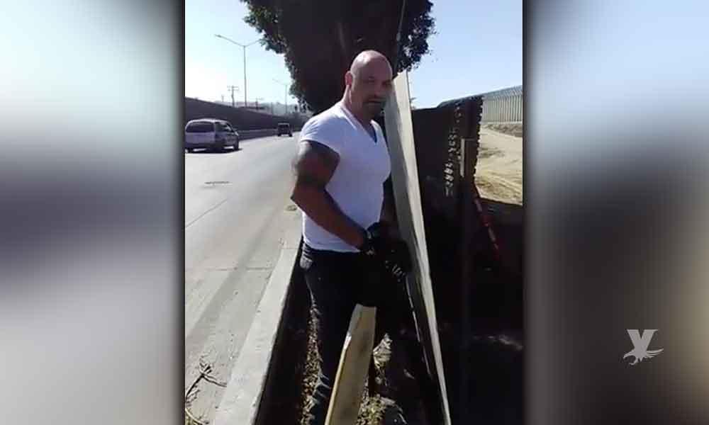(VIDEO) Autoridades emiten alerta contra Iván Riebeling, por invasión territorial y robo de equipo en la construcción del muro