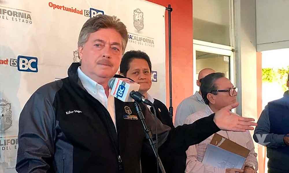 Ensenada y San Felipe fuera de los beneficios, seguirán con IVA de 16% anunció el Gobernador Francisco Vega de Lamadrid